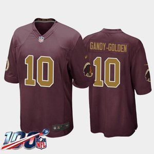 Redskins Antonio Gandy-Golden Gold Jersey